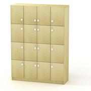 Сумочные шкафы на 16 ячеек для крупных магазинов.  Их можно использовать...