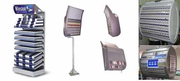 торговое оборудование для табачных изделий фото